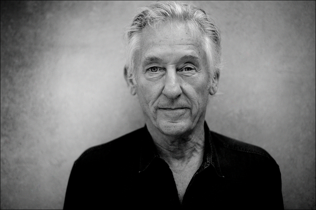 Ed Ruscha before the opening of his exhibition at Kunsthaus Bregenz